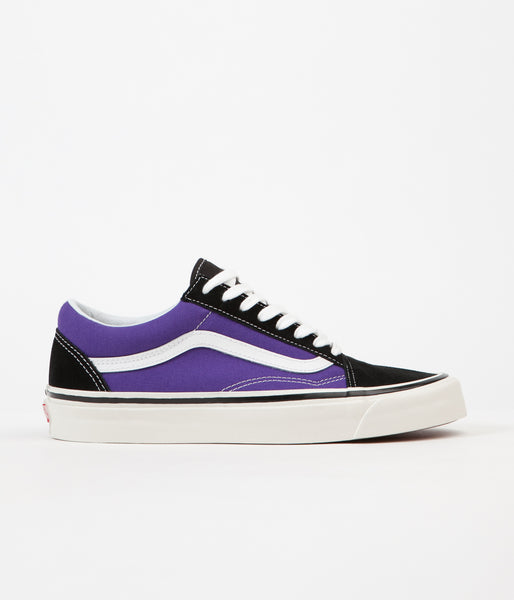 Vans Old Skool 36 DX Anaheim Factory Shoes - Black / OG Bright Purple