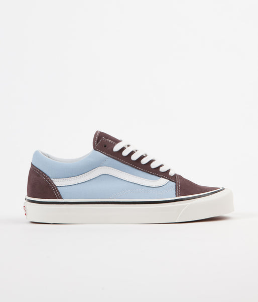 Vans Old Skool 36 DX Anaheim Factory Shoes - Brown / Light Blue