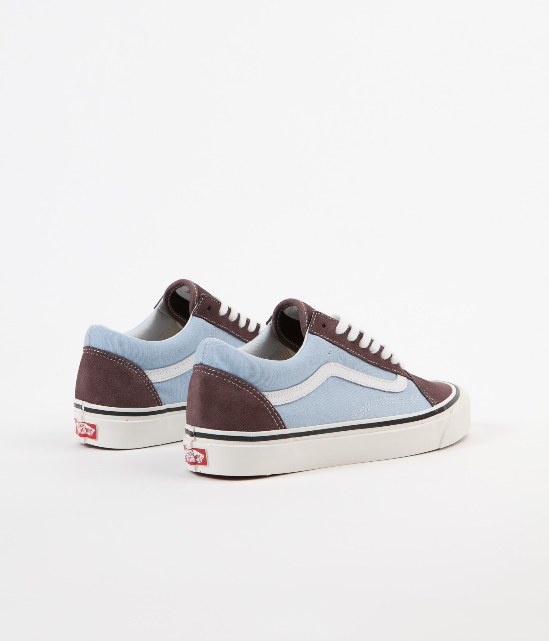 d4b4b6b840 ... Vans Old Skool 36 DX Anaheim Factory Shoes - Brown   Light Blue ...