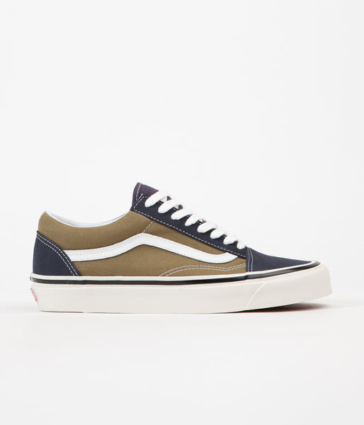 Vans Old Skool 36 DX Anaheim Factory Shoes - OG Navy / OG Olive