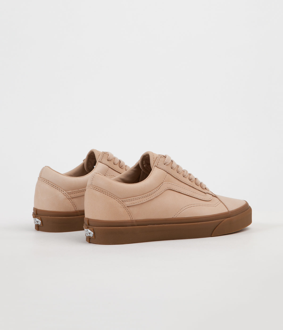 3dcedcbf470e ... Mens Trainers in Tan  detailed images 47c48 b0e22 ... Vans Old Skool DX  Veggie Tan Leather Shoes ...
