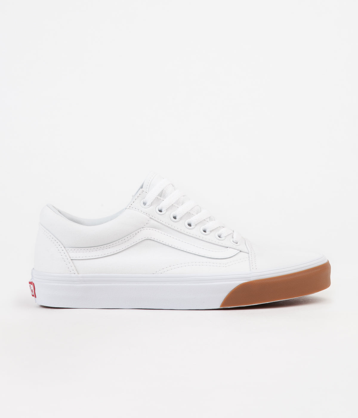 vans old skool gum bumper shoes true white true white. Black Bedroom Furniture Sets. Home Design Ideas