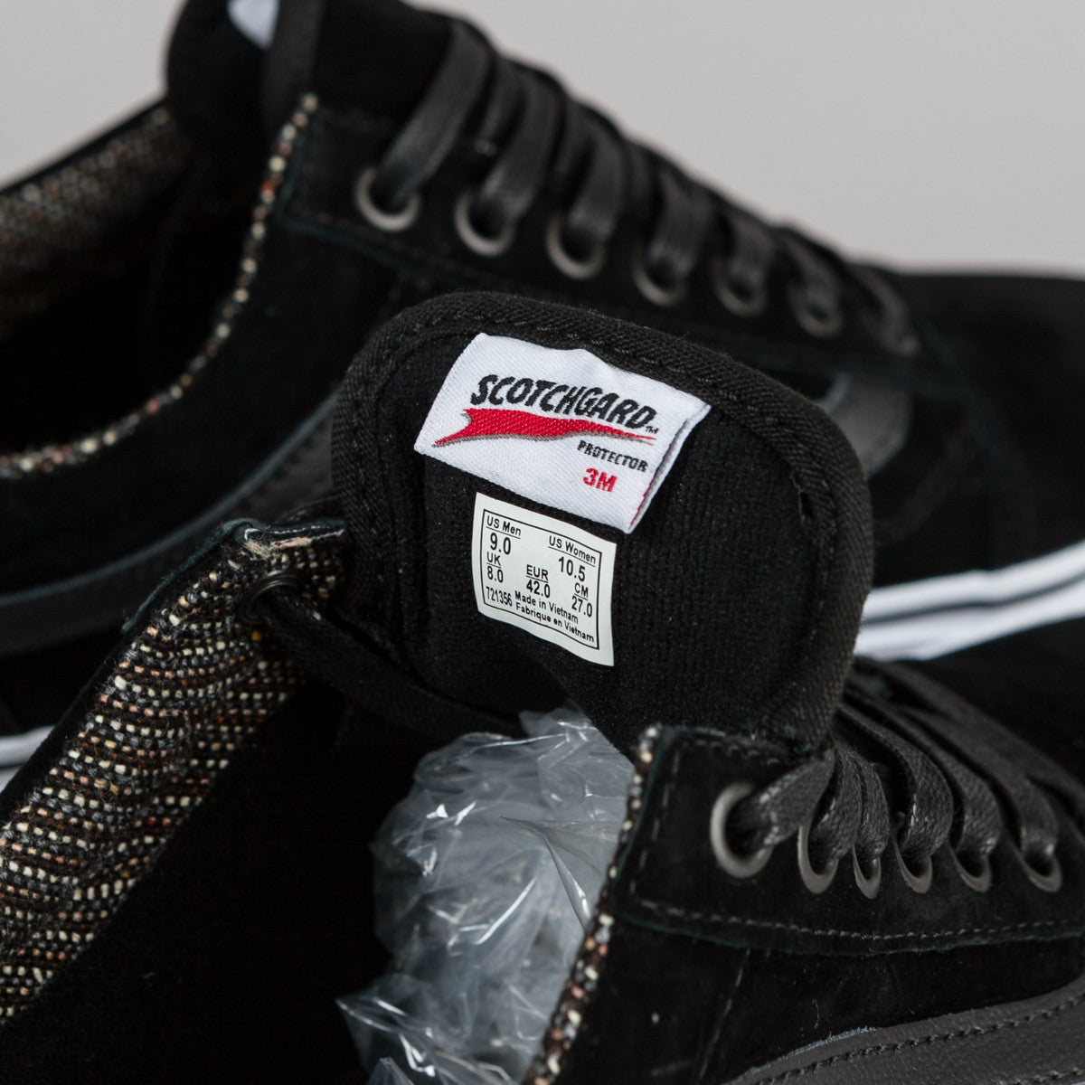 Vans Old Skool MTE Shoes - Black / Tweed