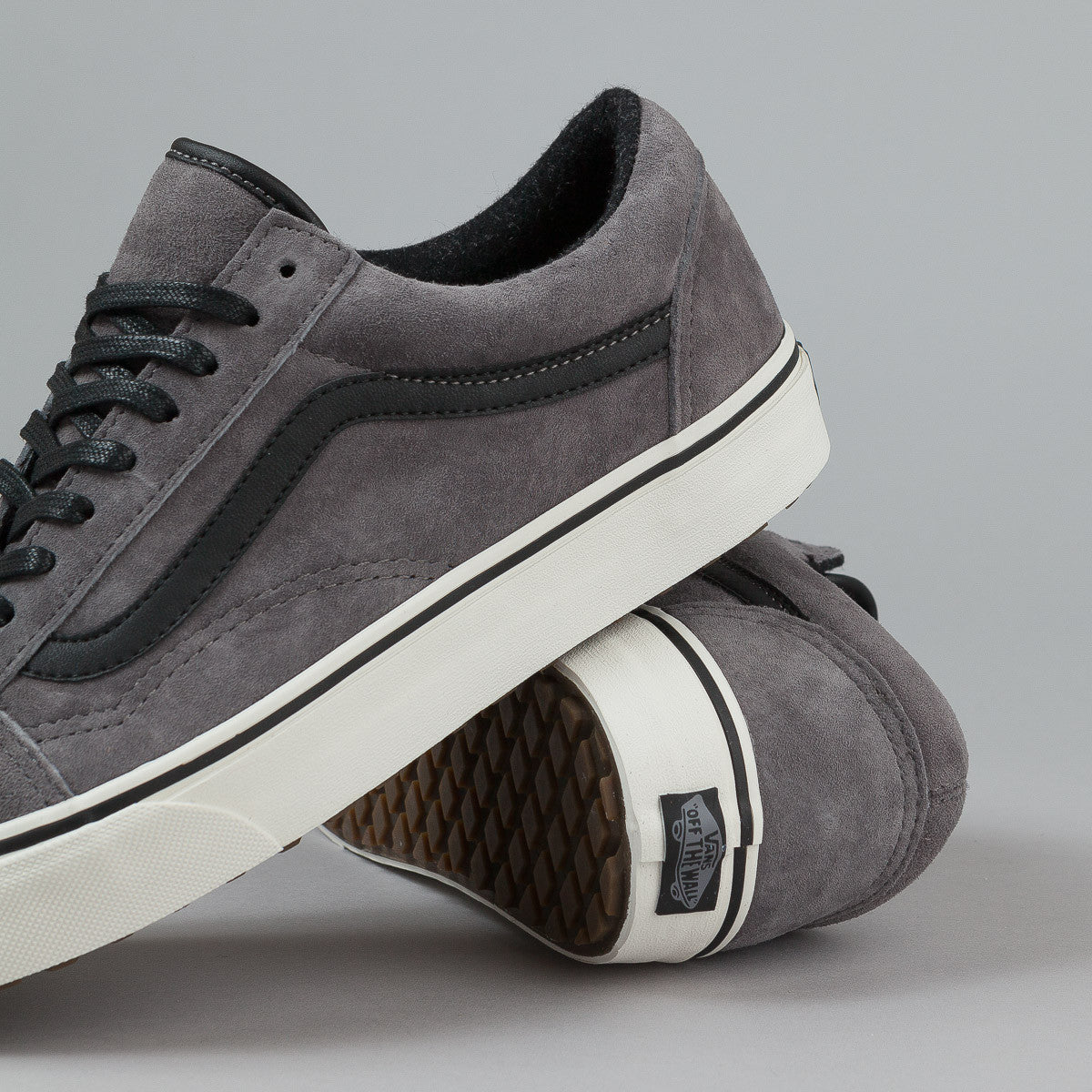 Vans Old Skool MTE Shoes - Pewter / Wool
