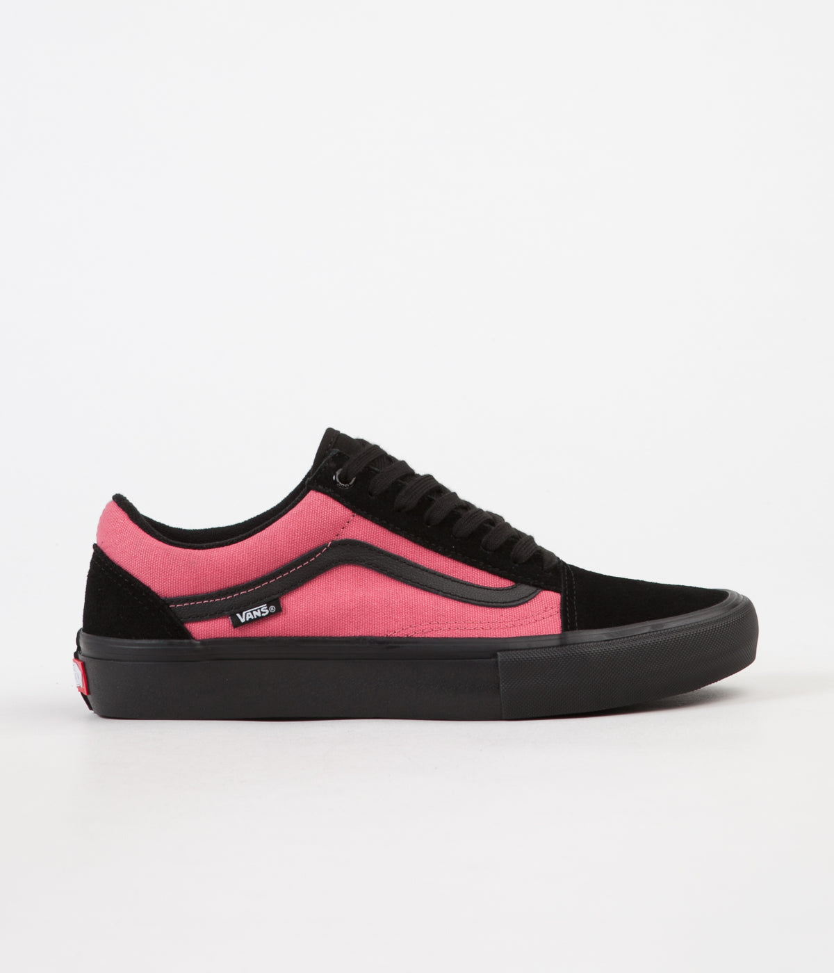 a09c9a20ca Vans Old Skool Pro Asymmetry Shoes - Black   Rose   Blue