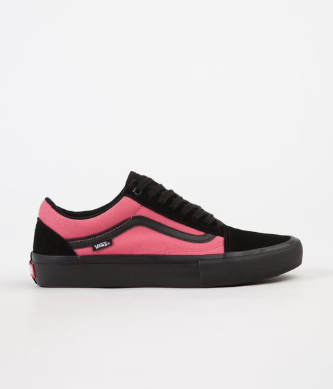 Vans Old Skool Pro Asymmetry Shoes - Black / Rose / Blue