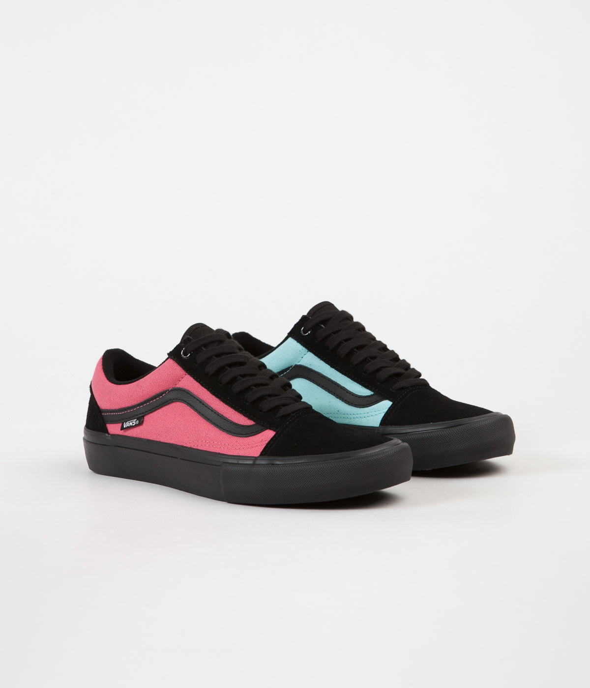 Shoes Vans pink and blue exclusive photo