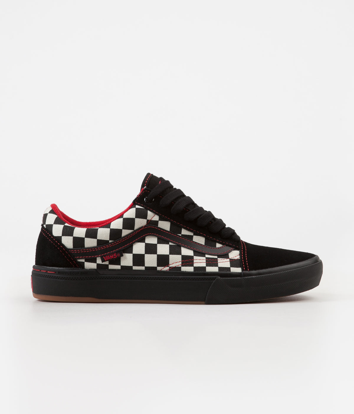 5e0a7843a29 Vans Old Skool Pro BMX Shoes - (Kevin Peraza) Black   Checkerboard ...