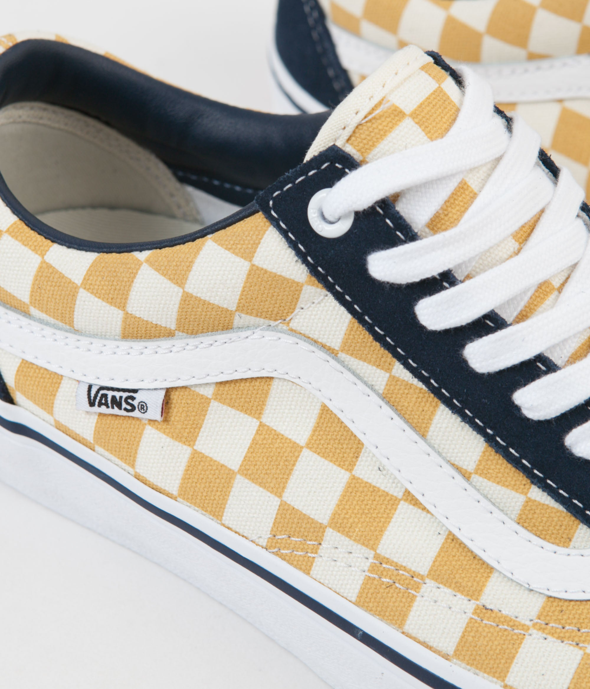 4d5c6c5d986f88 ... Vans Old Skool Pro Checkerboard Shoes - Dress Blues   Ochre ...