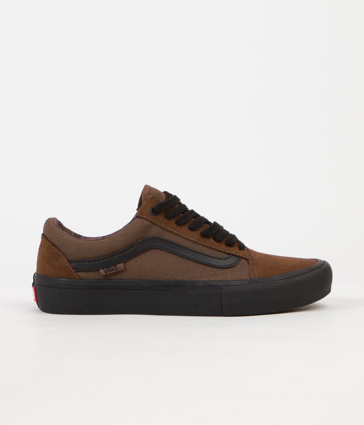 Vans Old Skool Pro (Dakota Roche) Shoes Teak Black