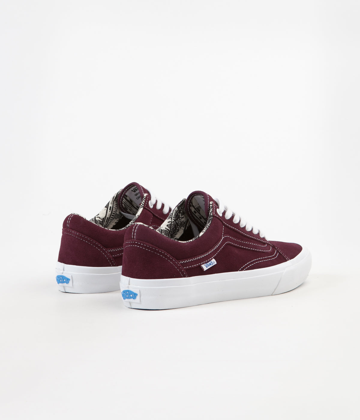 df14e1a7d6 ... Vans Old Skool Pro (Ray Barbee) Shoes - OG Burgundy ...