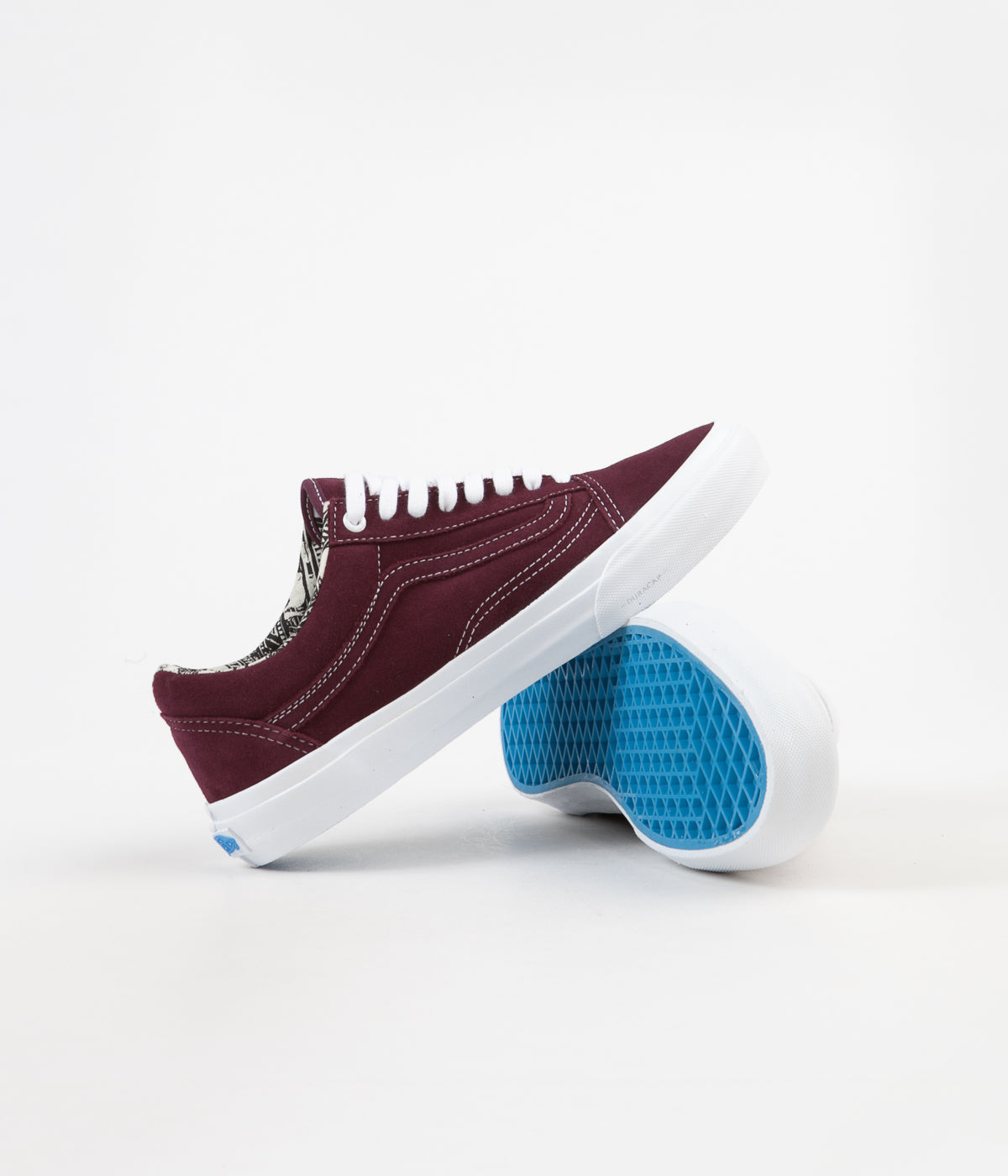 Vans Old Skool Pro (Ray Barbee) Shoes - OG Burgundy