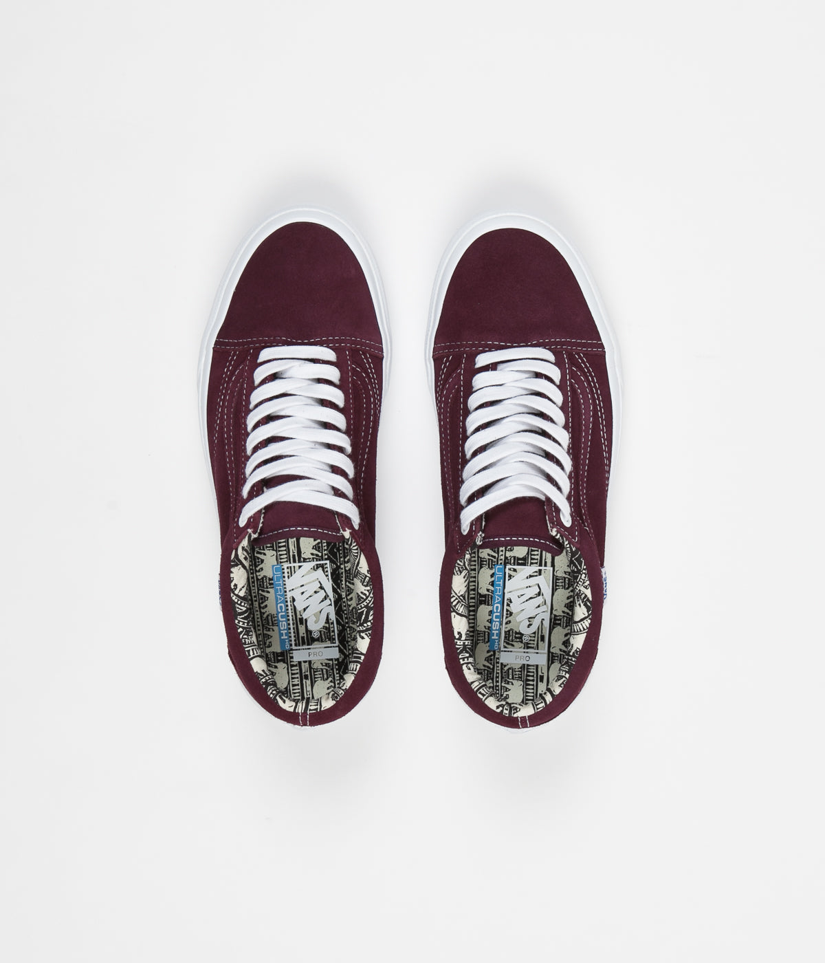 b549cc55c23e Vans Old Skool Pro (Ray Barbee) Shoes - OG Burgundy ...