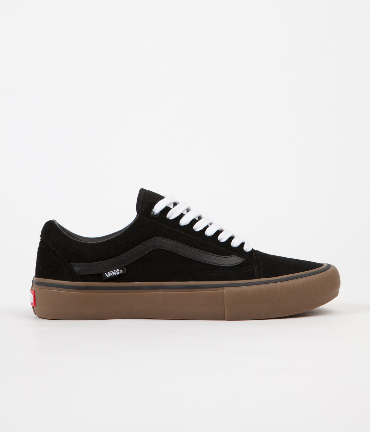 5b6da91e77dd Vans Old Skool Pro Shoes - Black   Gum   Gum