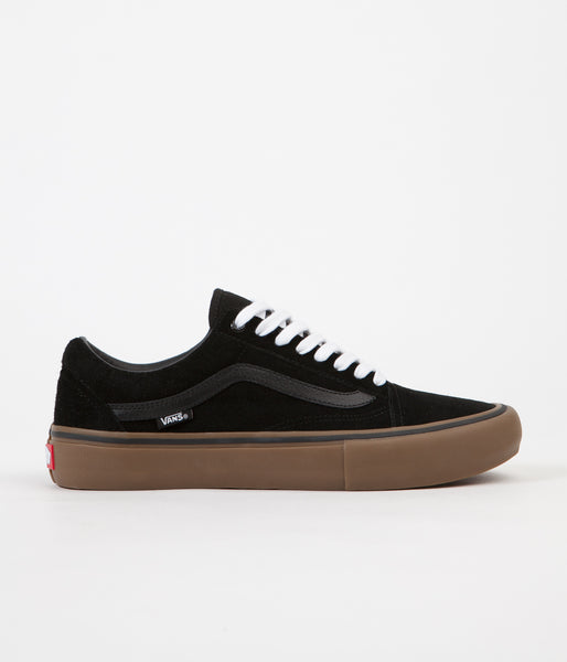 Vans Old Skool Pro Shoes - Black / Gum / Gum