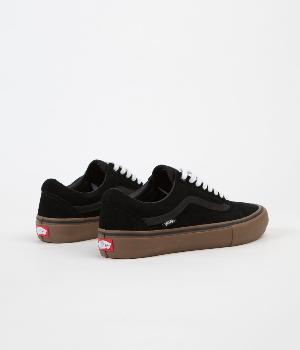 vans old skool pro shoes black gum gum flatspot. Black Bedroom Furniture Sets. Home Design Ideas