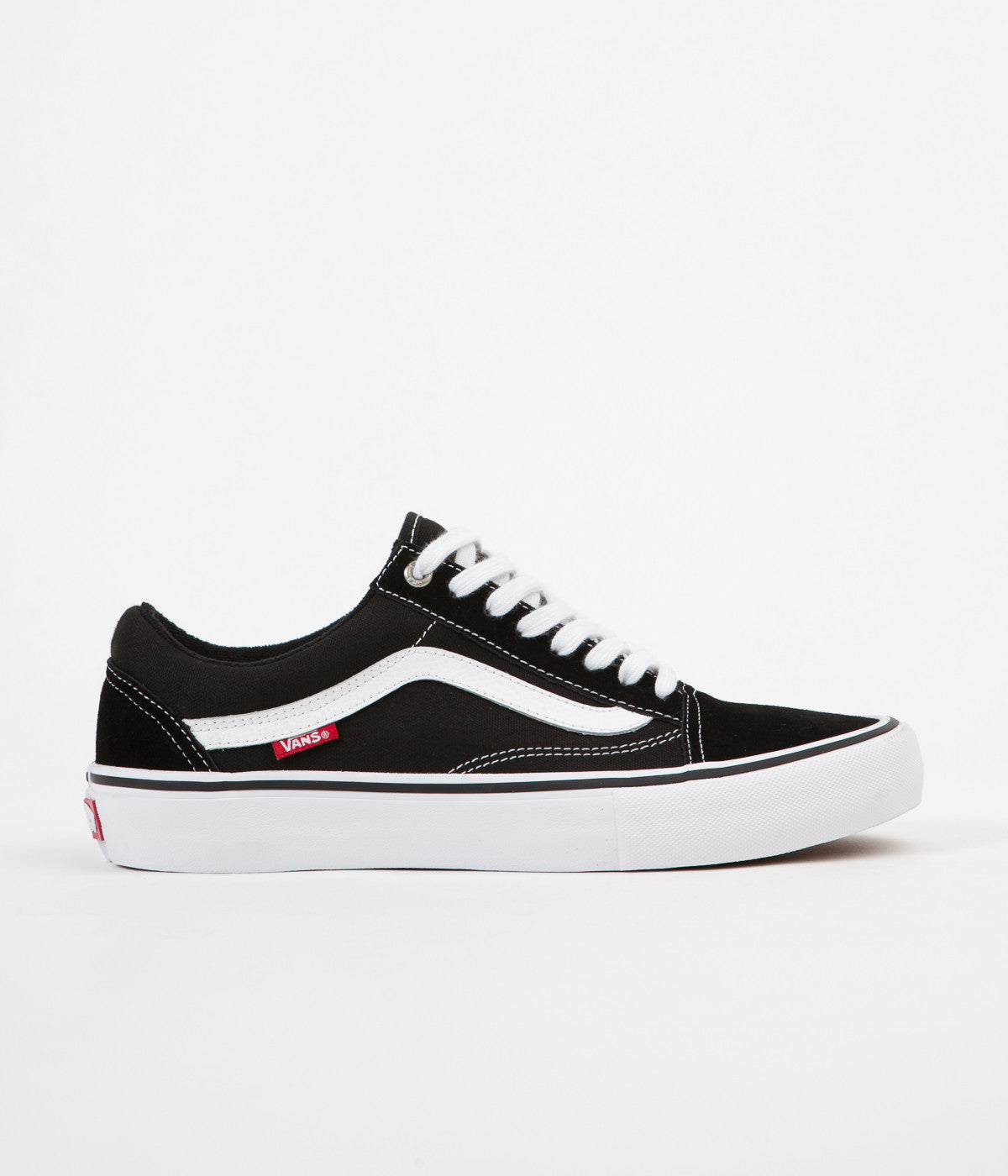 Vans Old Skool Pro Shoes - Black / White