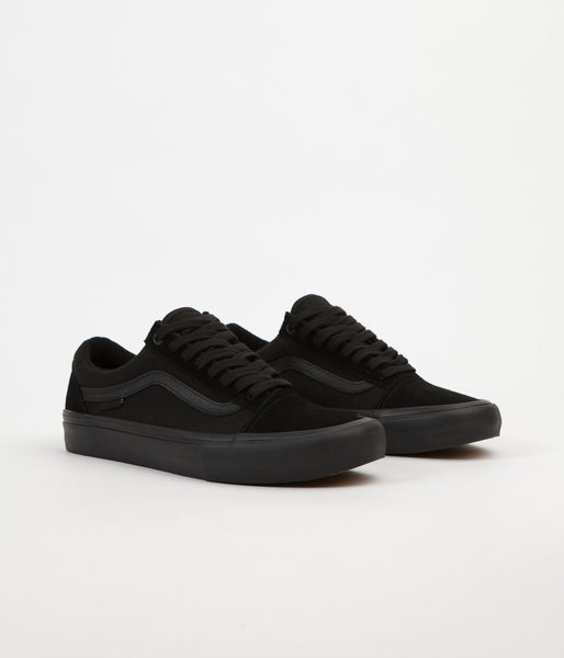 Vans Old Skool Pro Shoes - Blackout  6274ddbfb9