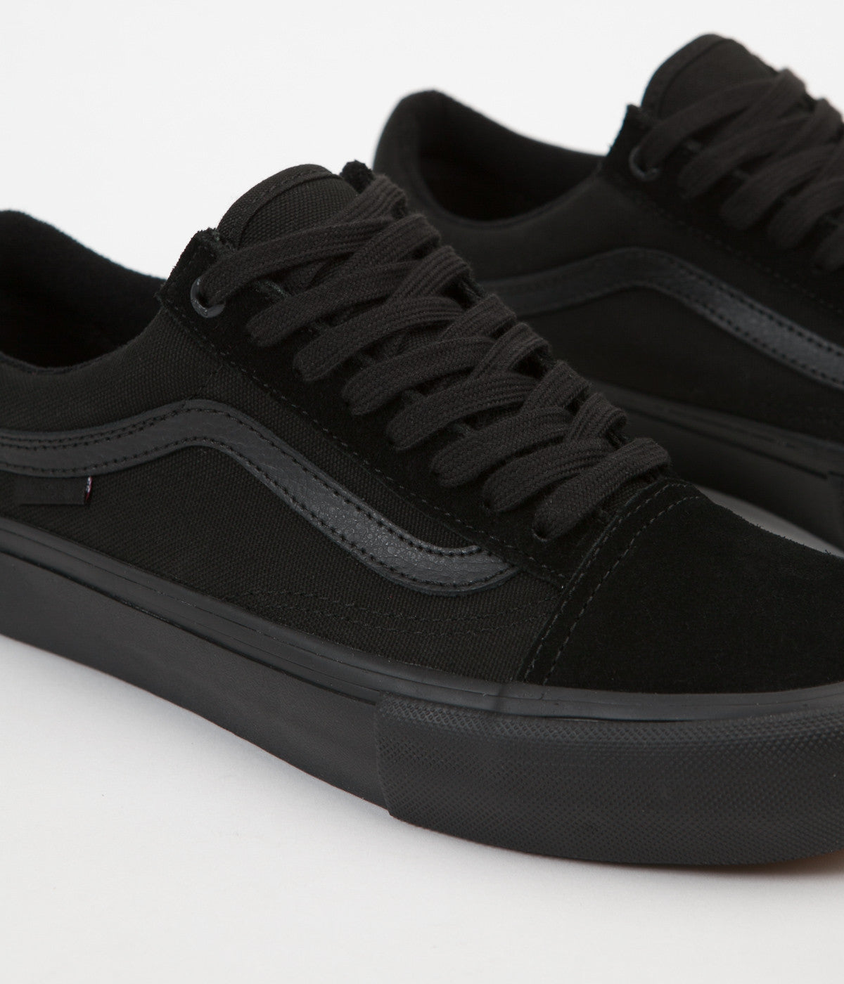79e13f132e ... Vans Old Skool Pro Shoes - Blackout ...