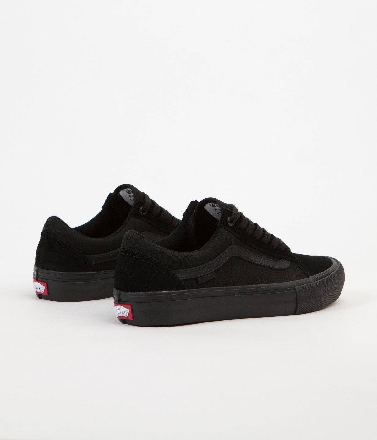 ca0a9af80e55 Vans Old Skool Pro Shoes - Blackout