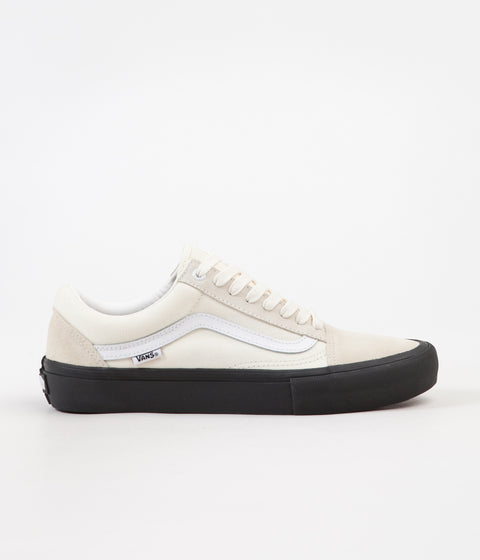 Vans Old Skool Pro Shoes - Classic White / Black