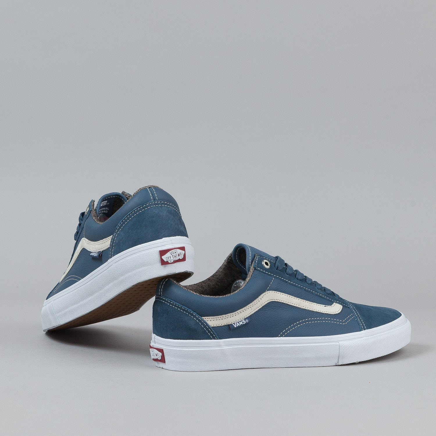 Vans Old Skool Pro Shoes - Dull Navy