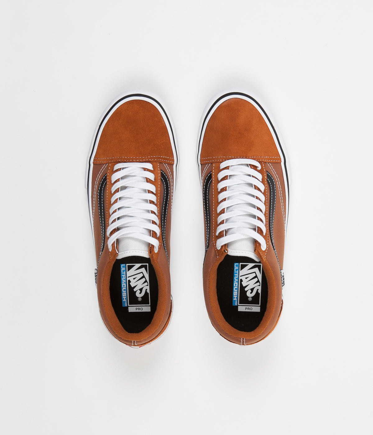 7d686fac8aba ... Vans Old Skool Pro Shoes - Glazed Ginger   Black   White ...