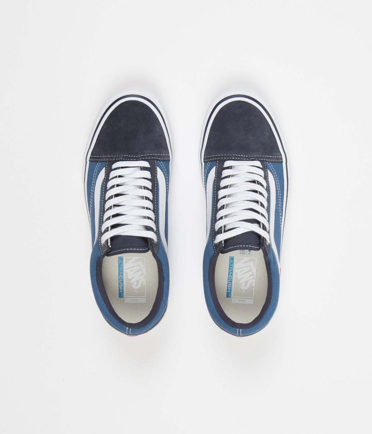 03d294779eac Vans Old Skool Pro Shoes - Navy   STV Navy   White ...