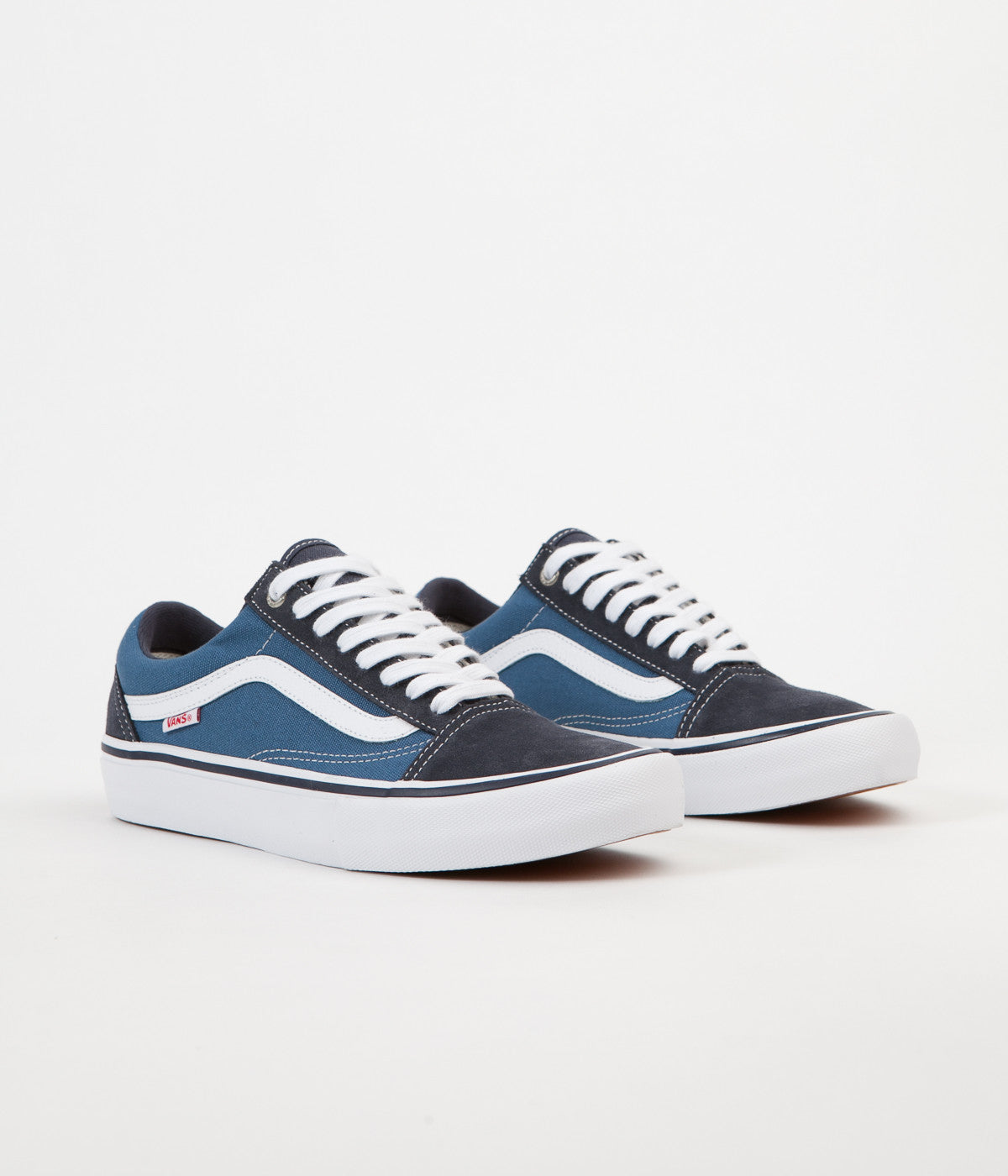 Vans Old Skool Pro Shoes - Navy / STV Navy / White