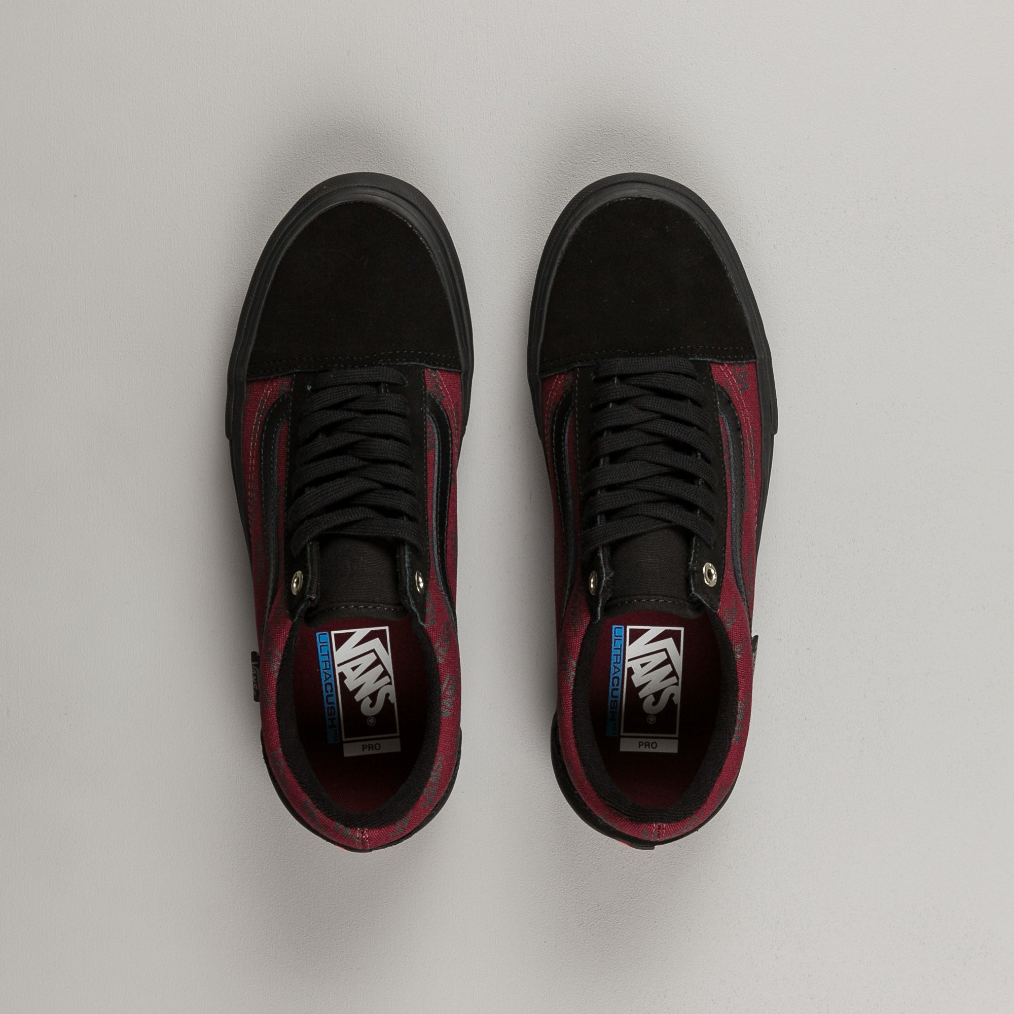 b443e3ee025159 Vans Old Skool Pro Shoes - Port Royale   Black ...