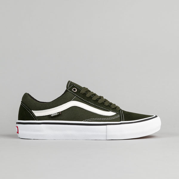 Vans Old Skool Pro Shoes - Rosin / White