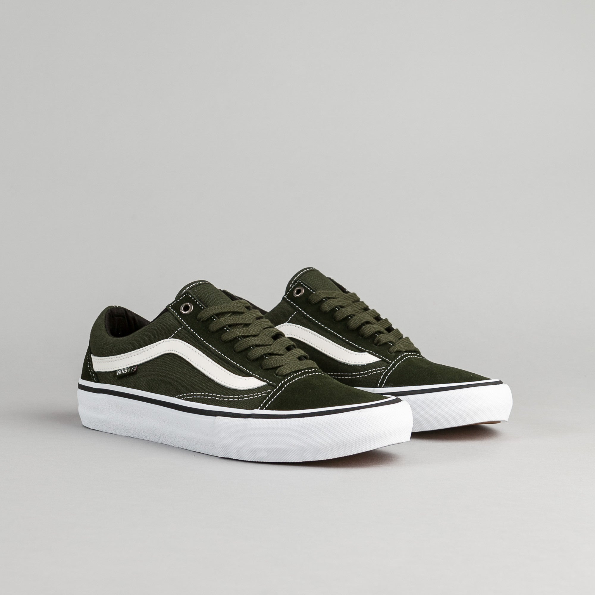 ... Vans Old Skool Pro Shoes - Rosin   White ... 2a2d7f4b24