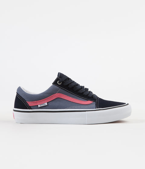 Vans Old Skool Pro Shoes - Sky Captain / Pink