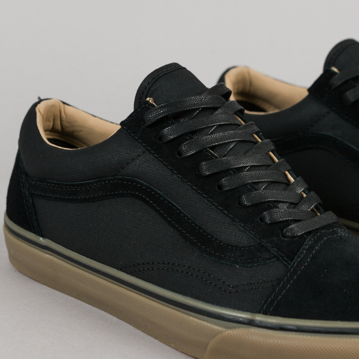 vans black old skool reissue dx trainers