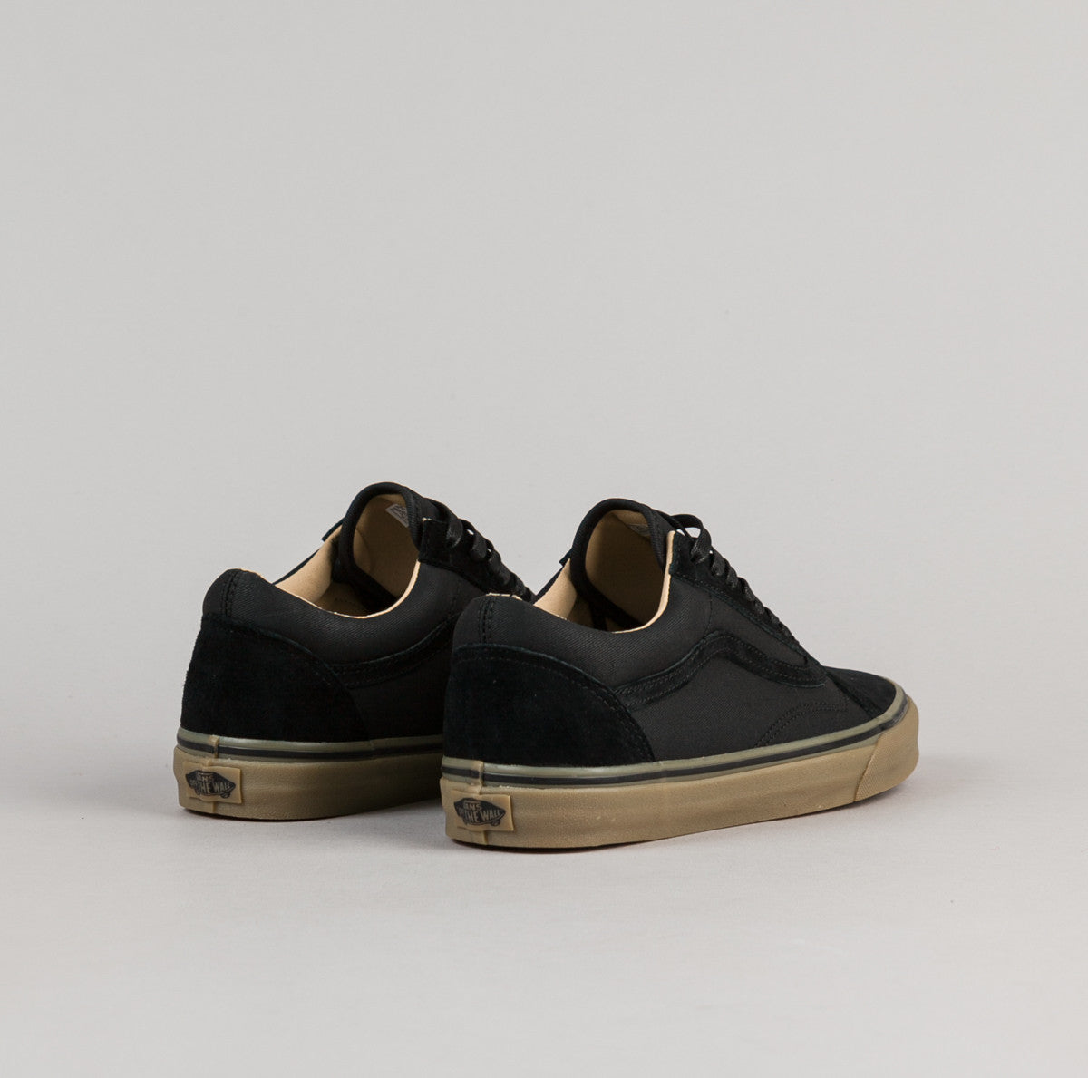 Vans Old Skool Reissue DX Shoes - Coated Black / Medium Gum