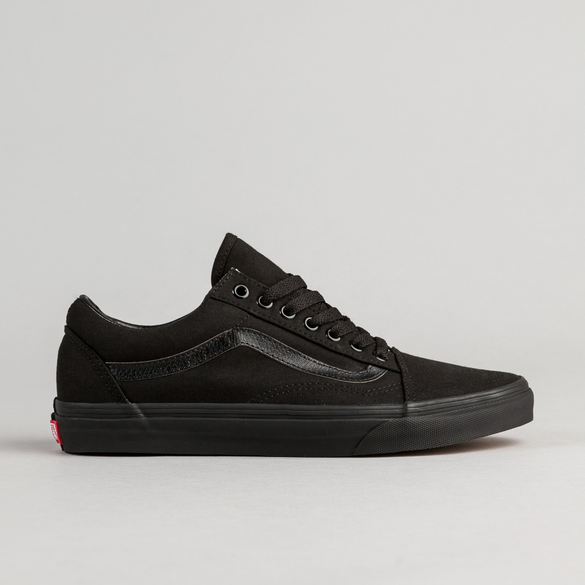 Vans Old Skool Shoes - Black / Black Canvas