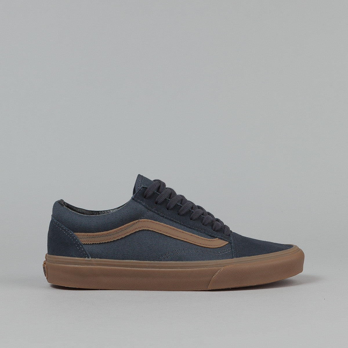 Vans Old Skool Shoes (Gum Sidestripe)