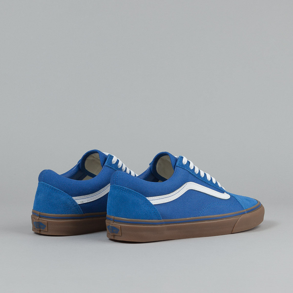 Vans Old Skool Shoes - (Gumsole) Olympian Blue / Medium Gum