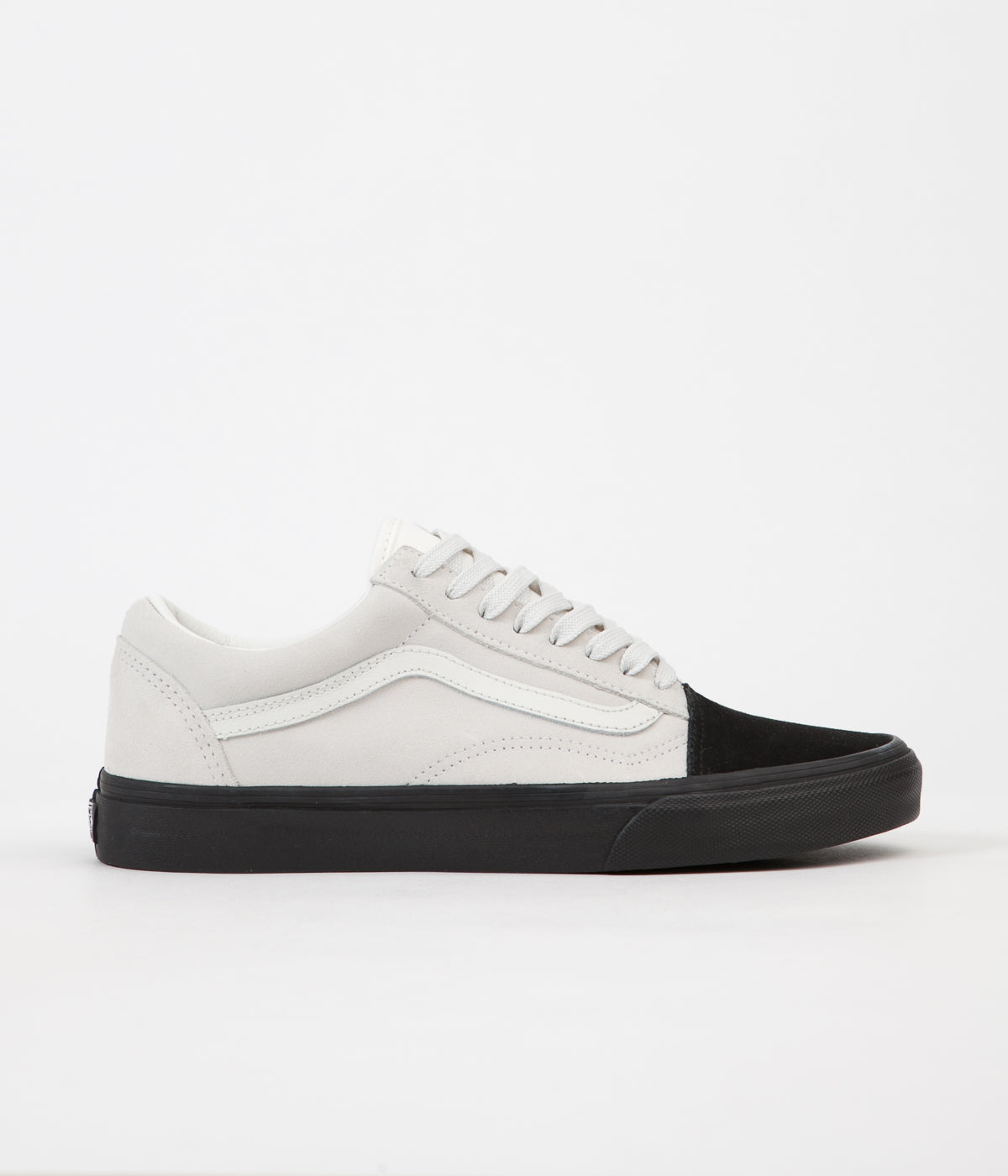 ... Vans Old Skool Shoes - (Native Suede) White   Black ... 060e2955e