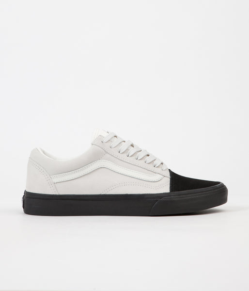 Vans Old Skool Shoes - (Native Suede) White / Black