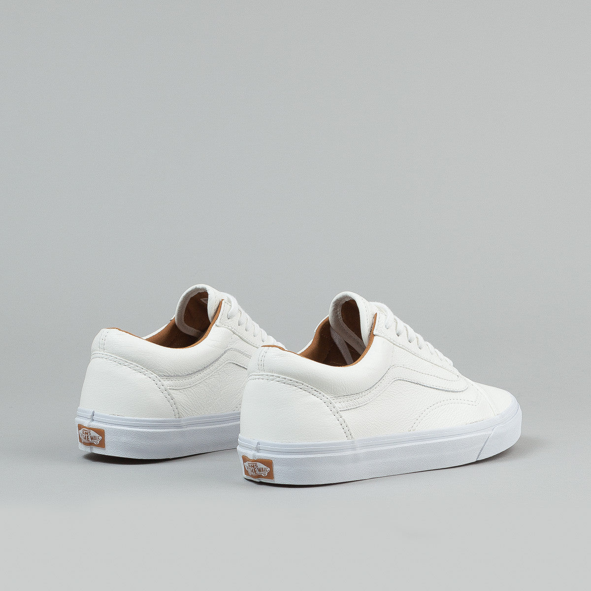 Vans Old Skool Shoes (Premium Leather) - White