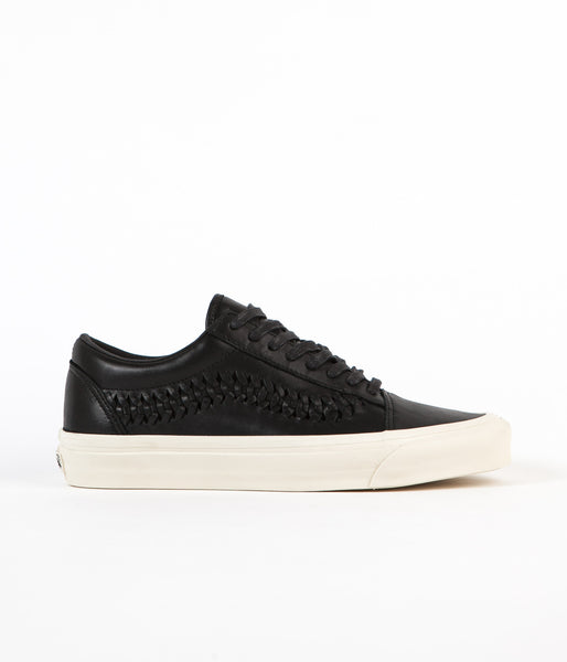 Vans Old Skool Weave DX Leather Shoes - Black
