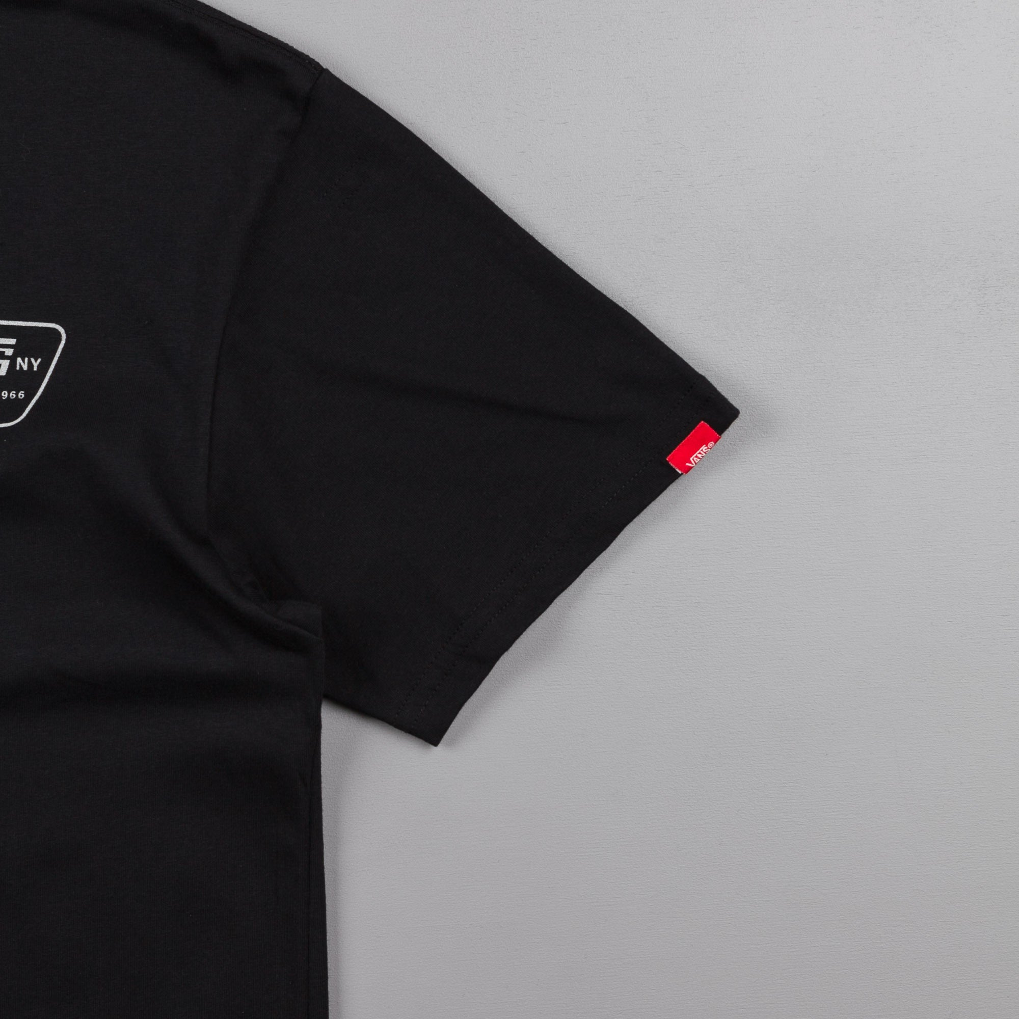 Vans Reflective Full Patch T-Shirt - Black
