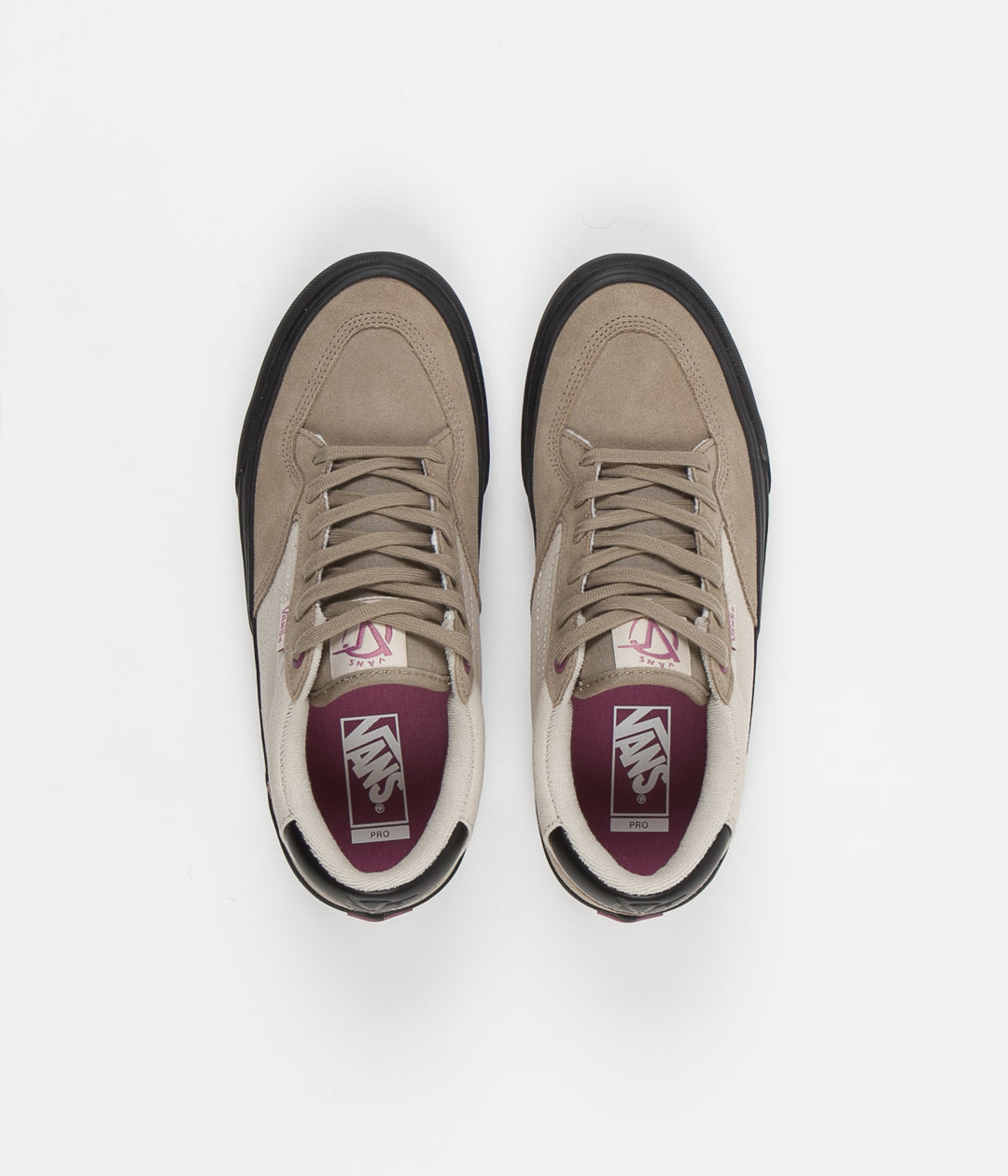 Vans Rowan Pro Shoes - Desert Taupe / Black