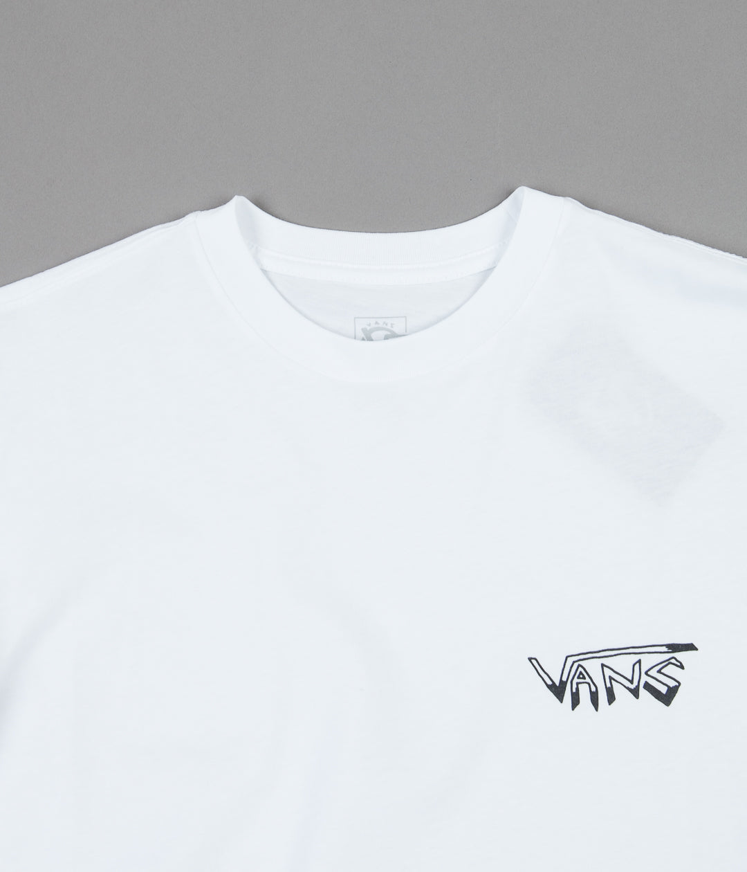 Vans Rowan Zorilla Faces Long Sleeve T-Shirt - White