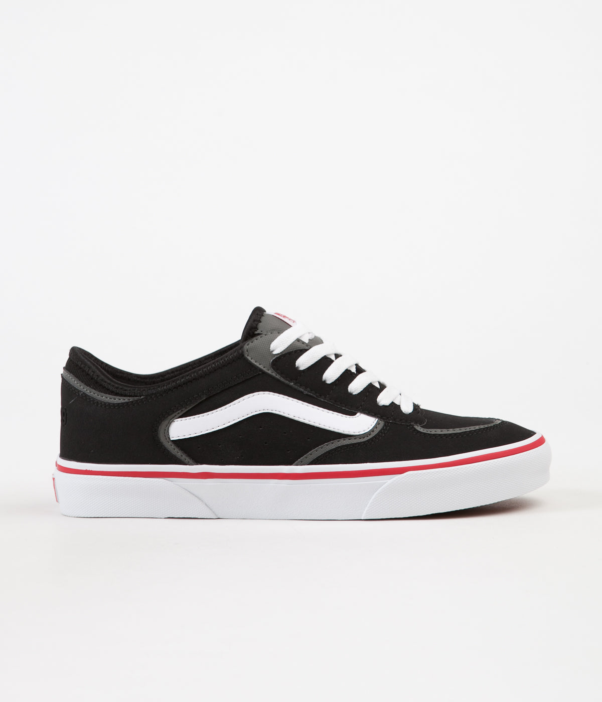 0b1d5350c42 ... Vans Rowley Classic LX Shoes - Black   White   Red ...