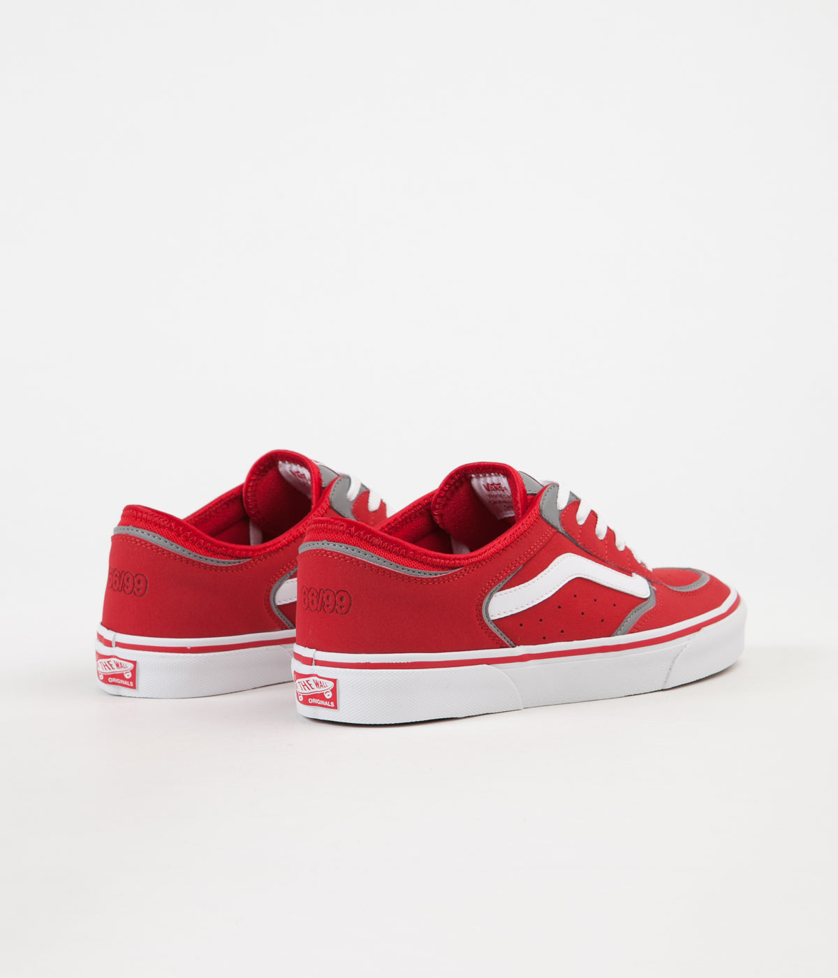 Vans Rowley Classic LX Shoes - Racing Red / White