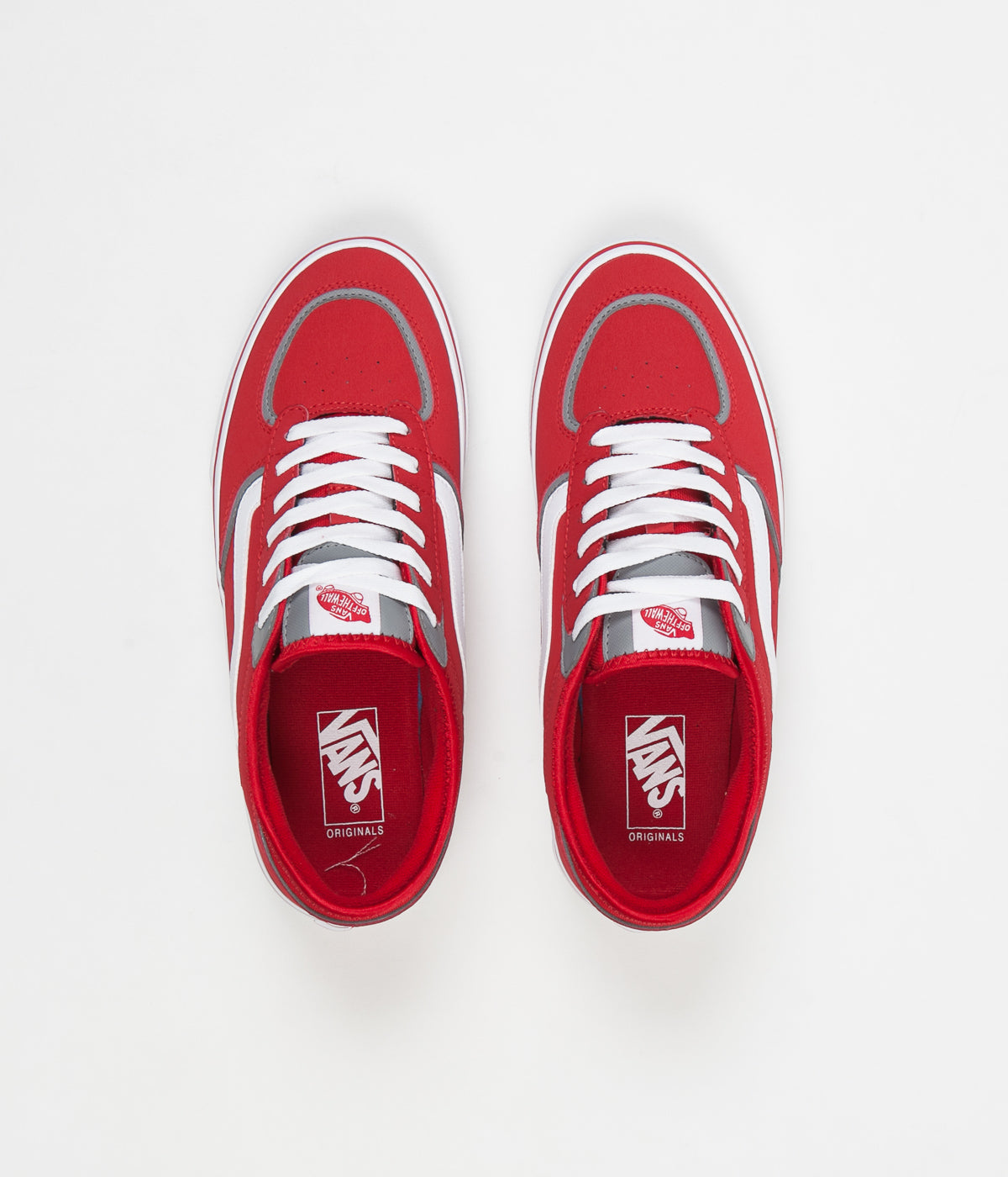e23a0a24a8e Vans Rowley Classic LX Shoes - Racing Red   White ...