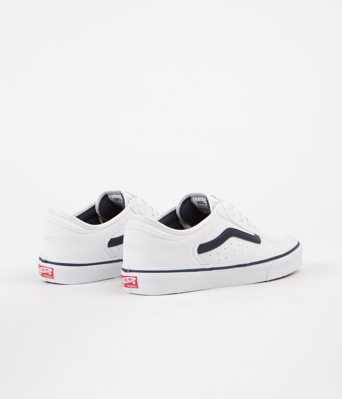 Vans Rowley Classic LX Shoes - White / Navy