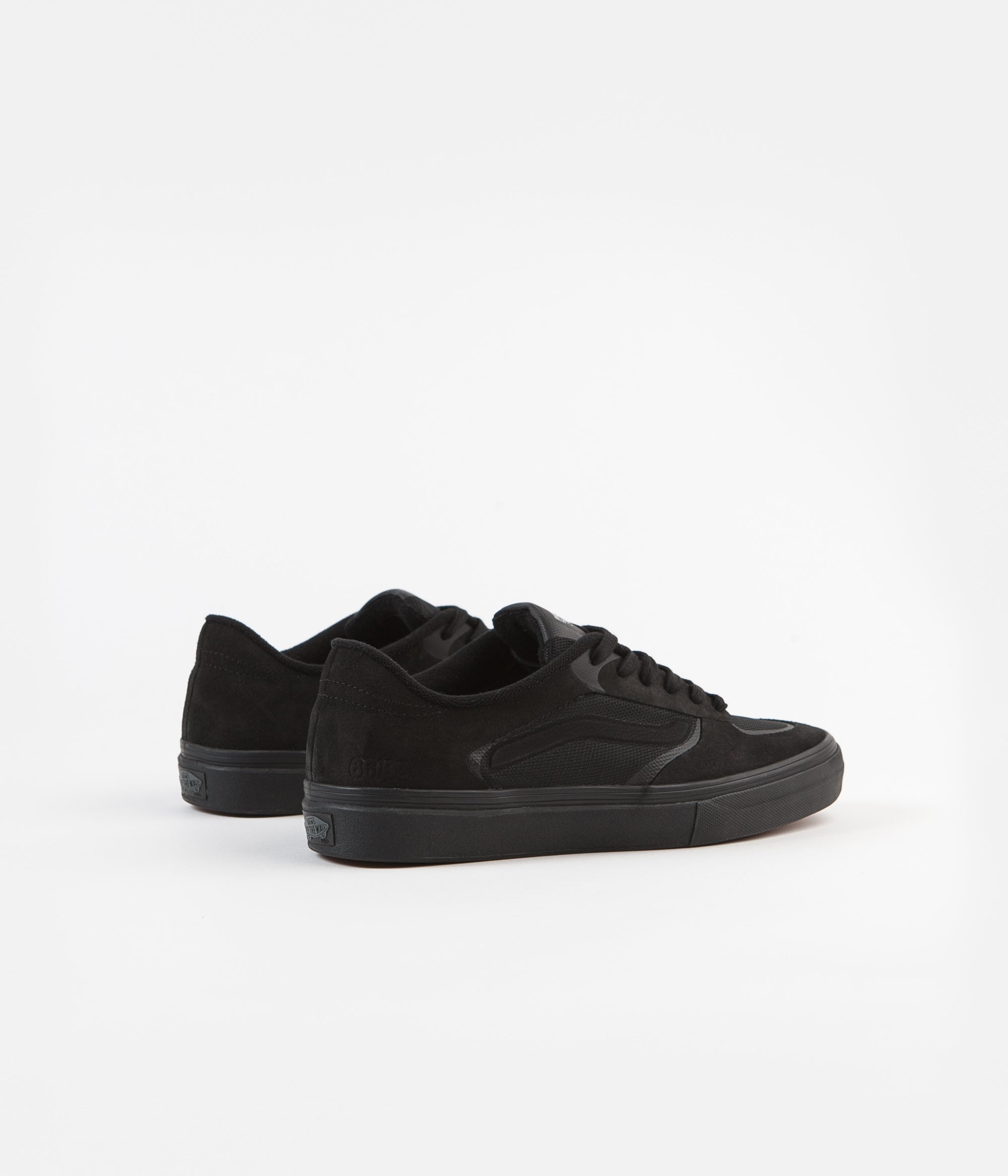 Vans Rowley Rapidweld Pro Shoes - Black / Black
